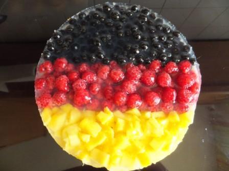 WM-Torte / Fußballtorte backen
