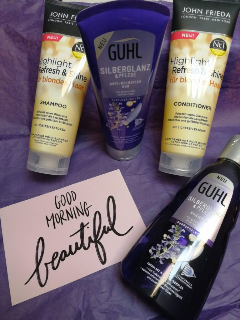 Guhl Silberglanz & Pflege + Highlight Shampoo und Conditioner